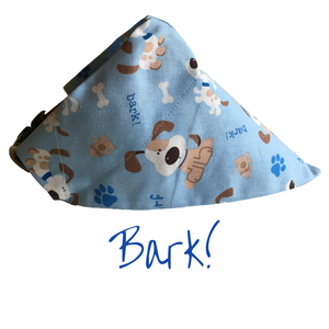 Bark!-Dog Bandana - Dogs Dig It