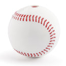 Your dog is sure to hit a home run with this best-selling baseball made from the award-winning Orbee-Tuff material, which is 100% recyclable and non-toxic. Baseball has authentic red stitching molded on to a white dog-durable ball that is bouncy, buoyant, and perfect for tossing, fetching, and bouncing.