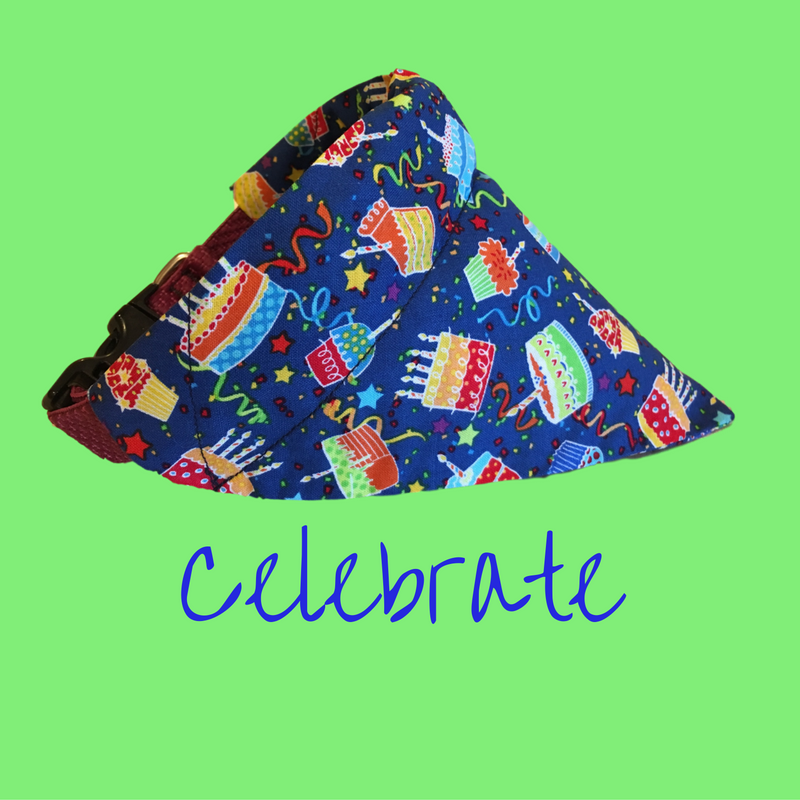 Celebrate-Dog Bandana - Dogs Dig It