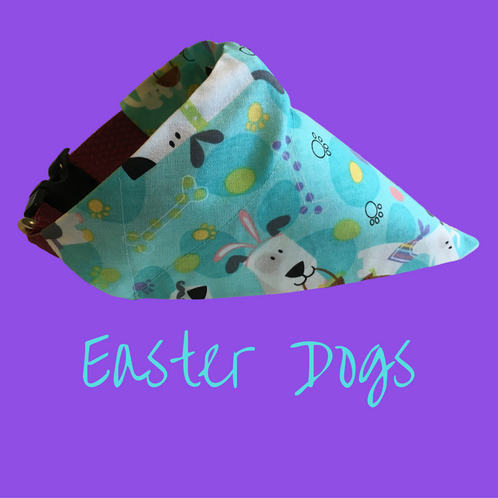 Easter Dogs-Dog Bandana - Dogs Dig It