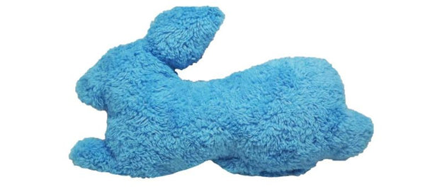 The Duraplush Rabbit dog toy is the perfect pillow pal for dogs who love to snuggle with their toys. This durable and soft dog toy is eco-friendly and made in the USA. It features a Duraplush 2-ply bonded outer material, Stitchguard internal seams, and eco-fill recycled filling.