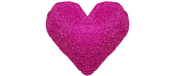 Show your dog some love with the Duraplush Heart dog toy. Makes a great pillow pal for dogs who love to snuggle with their toys. This durable and soft dog toy is eco-friendly and made in the USA. It features a Duraplush 2-ply bonded outer material, Stitchguard internal seams, and eco-fill recycled filling.