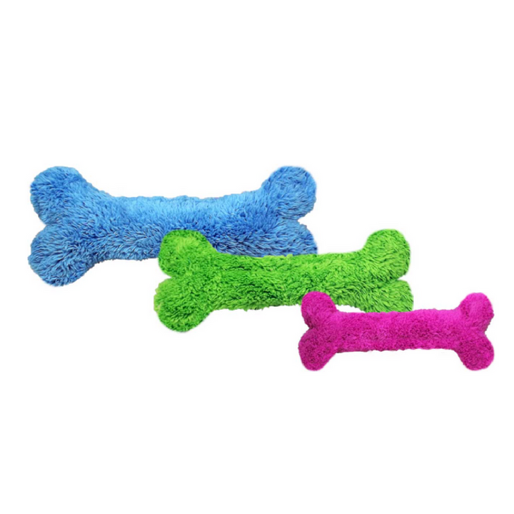 Fuzzies! Blue Bone - Dogs Dig It
