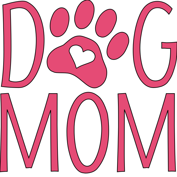 Dog Mom Car Window Decal