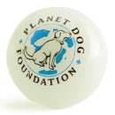 Glow for Good ball is made from the award-winning Orbee-Tuff material, which is 100% recyclable and non-toxic. Ball is durable, bouncy, buoyant, and perfect for tossing, fetching, and bouncing. Toy is infused with natural mint oil.