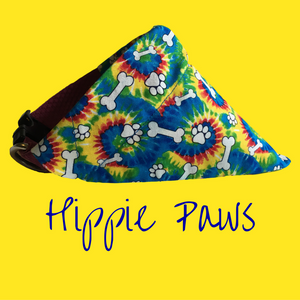 Hippie Paws-Dog Bandana - Dogs Dig It