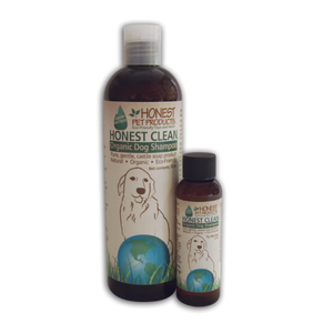 Honest Clean Organic Dog Shampoo - Dogs Dig It