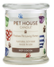 Pet House candles are hand-poured, and made from 100% natural, dye-free soy wax. Comes in an 8.5 oz. glass jar. Fragrance profile is a delectable blend of chocolate morsels, cocoa, and vanilla, with a hint of mint and whipped cream.