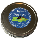 Our organic paw wax is handcrafted in small batches for ultimate quality and consistency. Use it to protect pads from drying out in the cold and snow or to heal dry and cracked pads and noses.