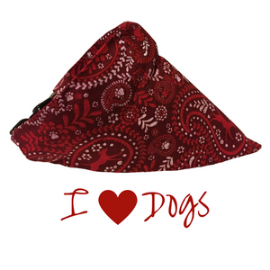 I Love Dogs-Dog Bandana - Dogs Dig It