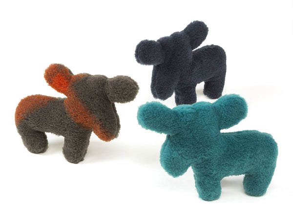 Madison Moose is sure to delight any dog with its attention-grabbing squeaker and eye-catching colors.   Made of 100% eco-friendly IntelliLoft fabric and fill.