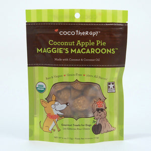 MAGGIE'S MACAROONS-Coconut Apple Pie - Dogs Dig It