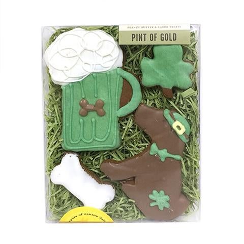 St. Patrick's Day Dog Cookie Box