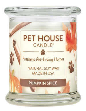 Pet House Pumpkin Spice Candle