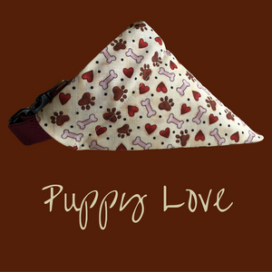 Puppy Love-Dog Bandana - Dogs Dig It