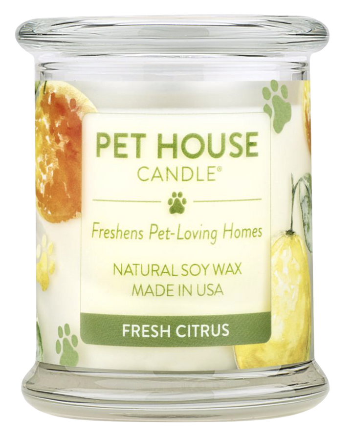 Pet House Fresh Citrus Candle