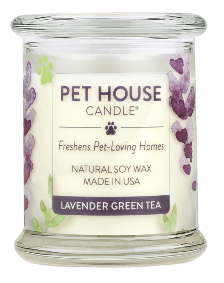 Pet House Lavender Green Tea Candle