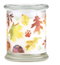 Pet House candles are hand-poured, and made from 100% natural, dye-free soy wax. Comes in an 8.5 oz. glass jar. Fragrance profile is a sweet and spicy blend of nutmeg, cinnamon, cloves, and drying leaves in the forest.