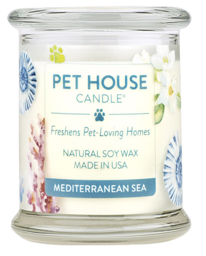 Pet House Mediterranean Sea Candle