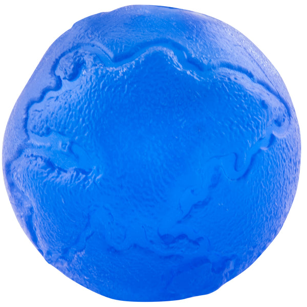 The single-color Planet ball is a new twist on the old and reliable favorite. This ultra-durable ball is perfect for chewers and pickers. It is made from the award-winning Orbee-Tuff material, which is 100% recyclable and non-toxic. Ball is durable, bouncy, buoyant, and perfect for tossing, fetching, and bouncing.