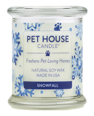Pet House Snowfall Candle