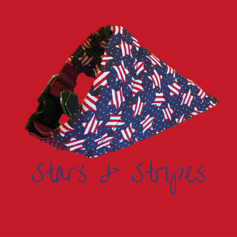 Stars & Stripes-Dog Bandana - Dogs Dig It