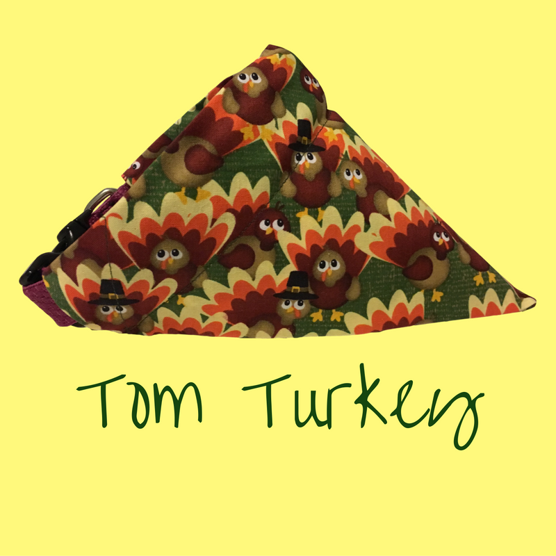 Tom Turkey-Dog Bandana - Dogs Dig It