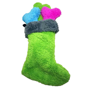 Fuzzies! Christmas Stocking - Dogs Dig It
