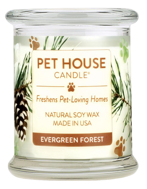 Pet House Evergreen Forest Candle