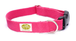 Hemp Dog Collar (Fuchsia)