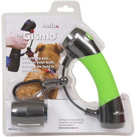 Everything you need on your walk can be held in one hand. The all-in-one ergonomic design allows you to walk your dog with ease.