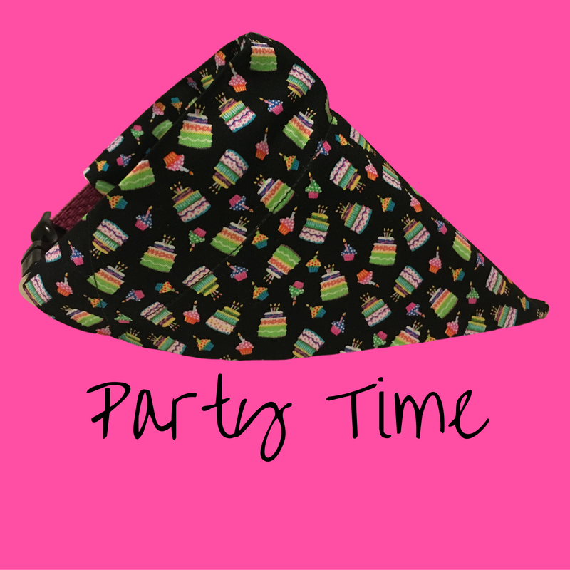 Party Time-Dog Bandana - Dogs Dig It