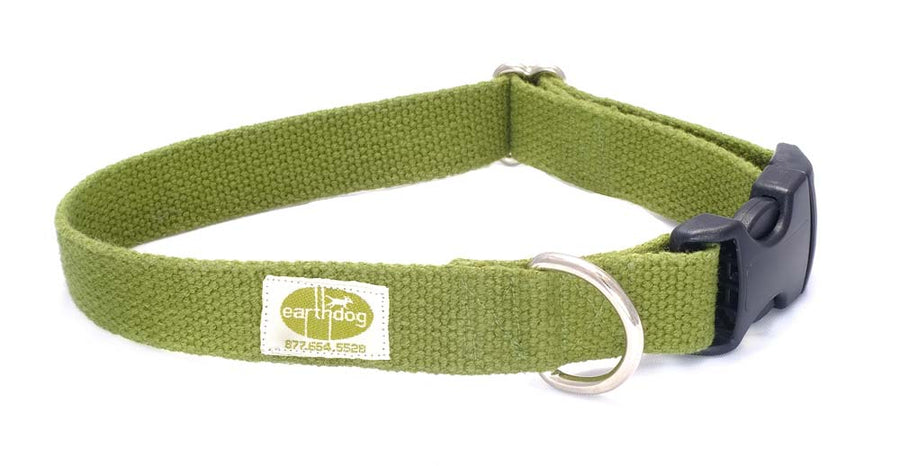 Hemp Dog Collar (Leaf)
