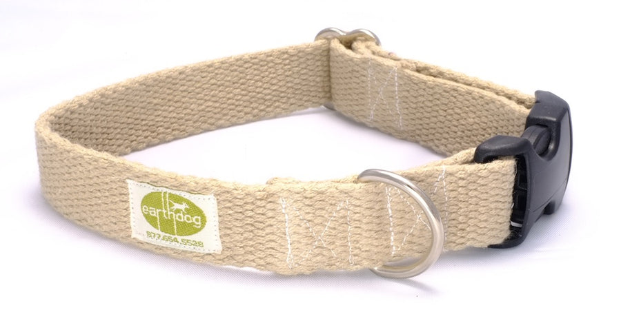 Hemp Dog Collar (Natural)