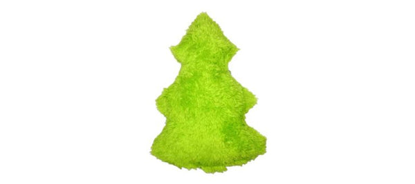 The Duraplush Holiday Tree dog toy is a holiday favorite among staff dogs. Makes a great stocking stuffer! This durable and soft dog toy is eco-friendly and made in the USA. It features a Duraplush 2-ply bonded outer material, Stitchguard internal seams, and eco-fill recycled filling.