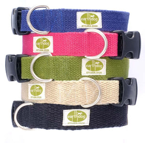 Earth Dog Adjustable Hemp Collars