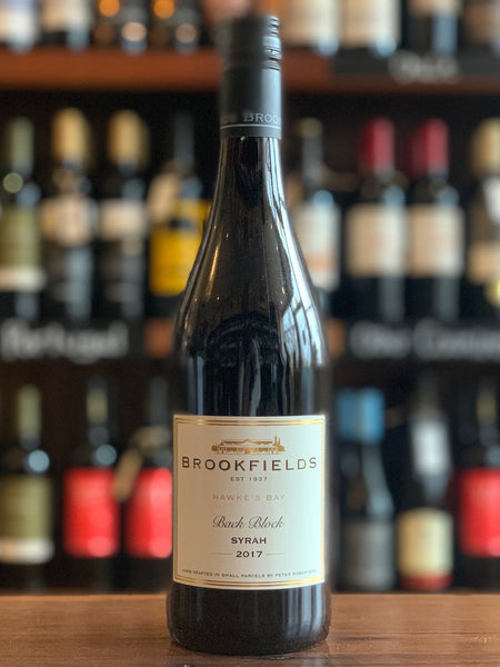 Brookfields 'Back Block' Syrah, Hawke's Bay