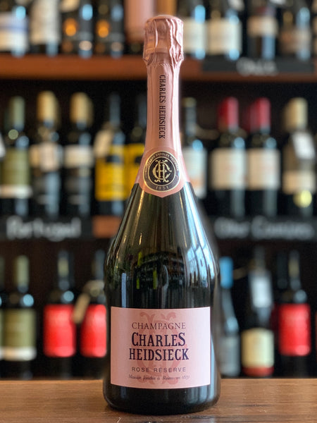 Charles Heidsieck Rose Reseve, Reims, Champagne