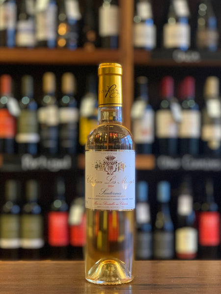 Chat. Les Mingets Sauternes (Half Bottle), Bordeaux