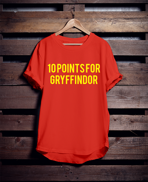 10 POINTS FOR GRYFFINDOR T-Shirt | University of Guelph - WUCKFESTERN