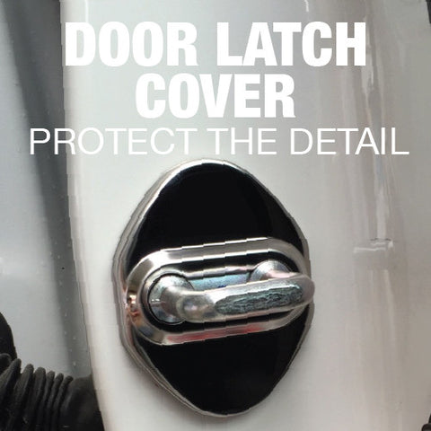 Door Latch Covers