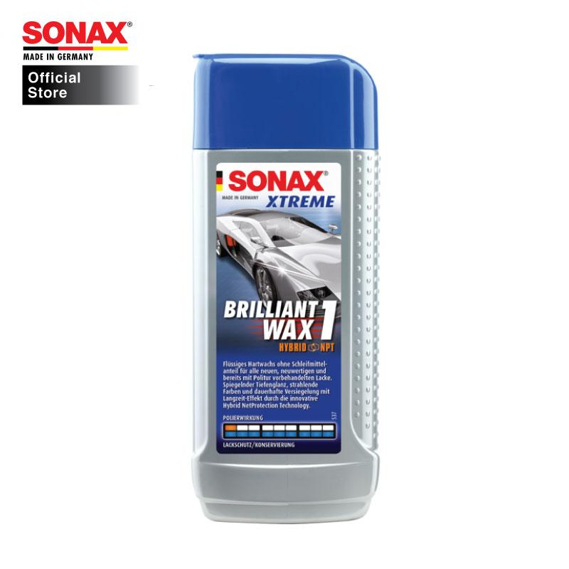 Sonax Xtreme Brilliant Wax 1 Hybrid NPT 250ml - Sonax Official Store Singapore SG