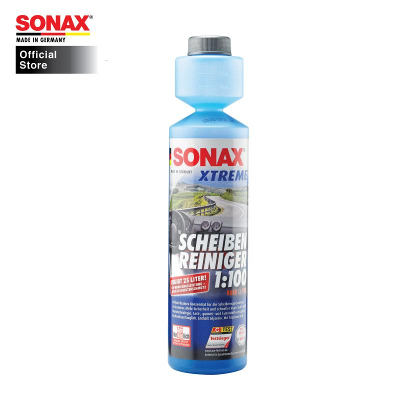 Sonax Xtreme Clear View 1:100 Concentrate Nano Pro 250ml - Sonax Singapore Official Store SG