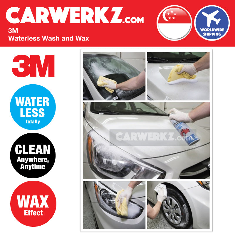 3M Waterless Wash and Wax (Twin Pack) - CarWerkz