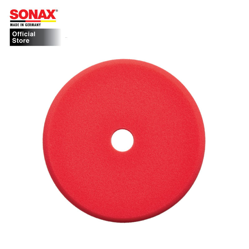 SONAX Orbital Polishing Pad Medium 143mm DA - official sonax online store carwerkz sg singapore professional grooming products