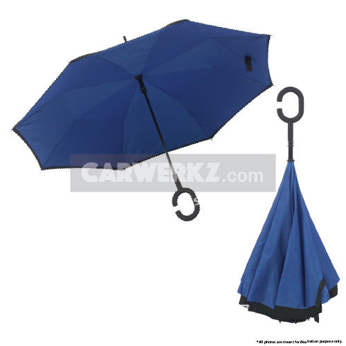Inverted Umbrella Blue - CarWerkz