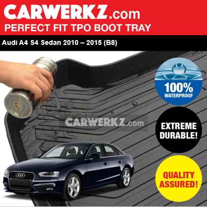 Audi A4 Sedan 2015-2016 TPO Boot Tray - CarWerkz