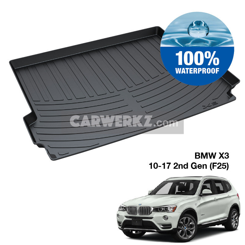 BMW X3 2010-2016 2nd Generation (F25) TPO Boot Tray - CarWerkz