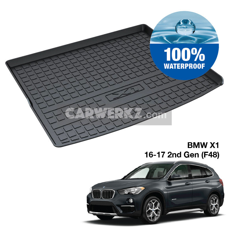 BMW X1 2015 - 2019 2nd Generation (F48)  Ultra Durable TPO Boot Tray Bootliner - CarWerkz