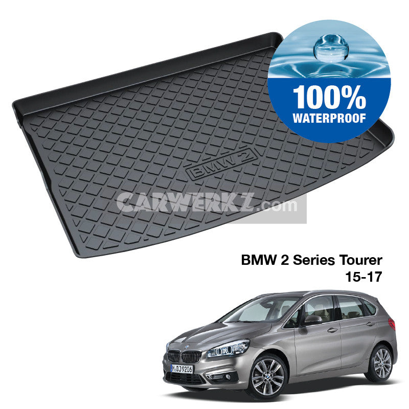 BMW 2 Series 2015-2017 TPO Boot Tray - CarWerkz